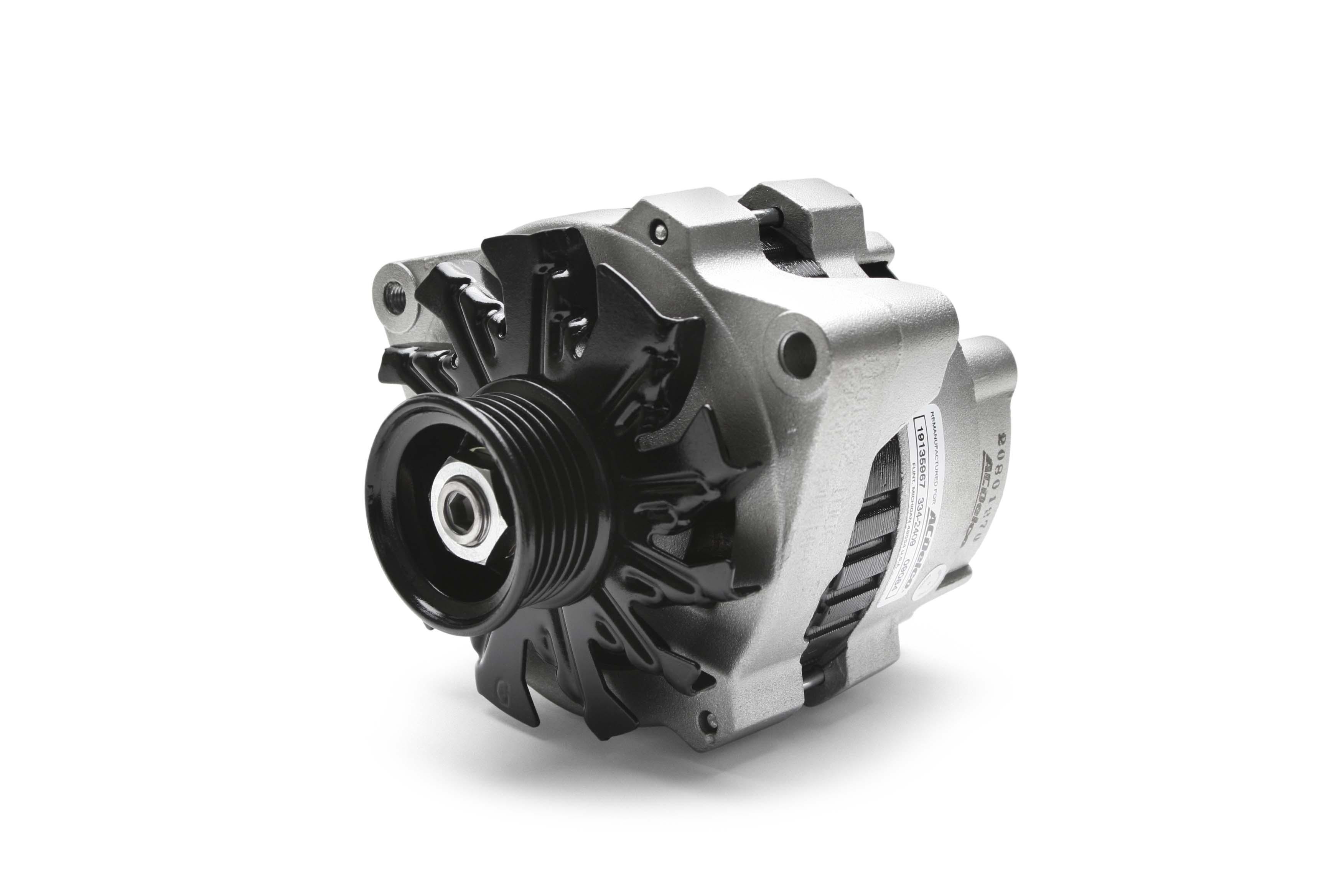 Acdelco Canada Gm Oe Remanufactured Alternators Relay Fuel Pump Gen2 When