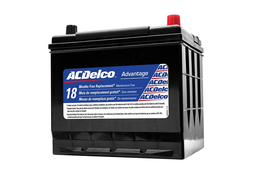 Ac Delco Battery >> Acdelco Canada Acdelco Advantage Battery